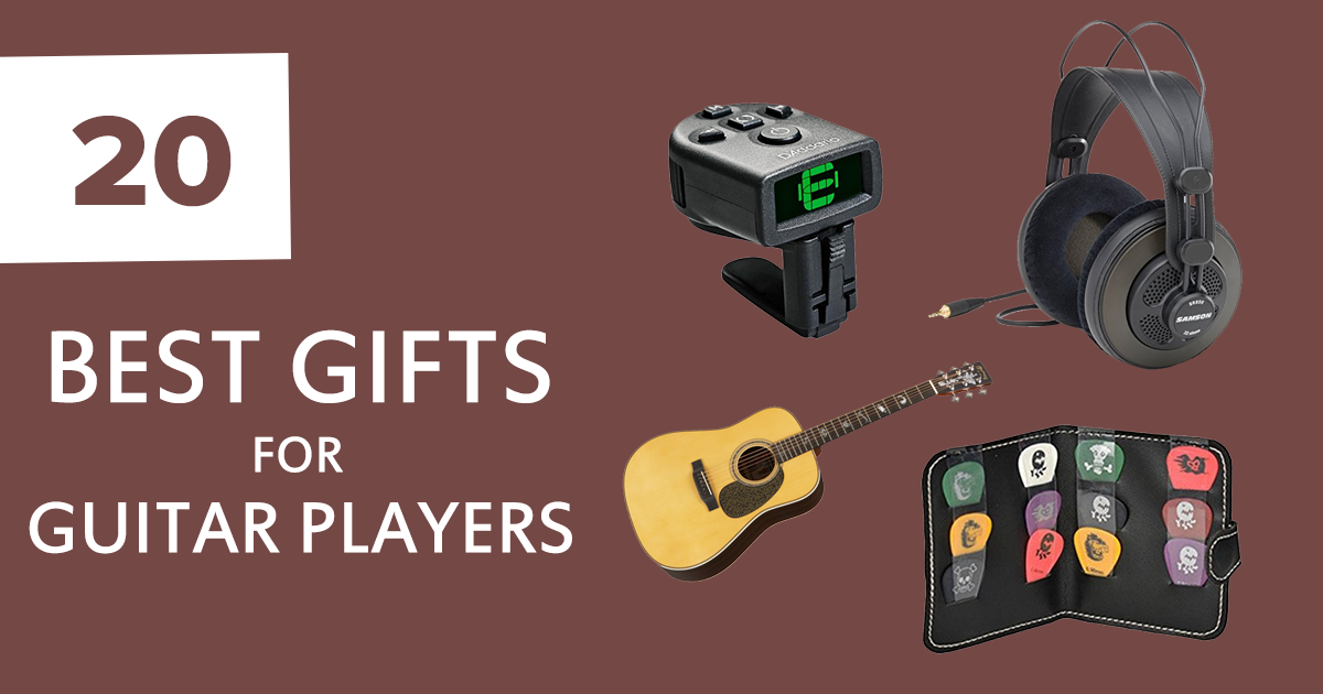 20 best gifts for guitar players of all skill levels in 2018