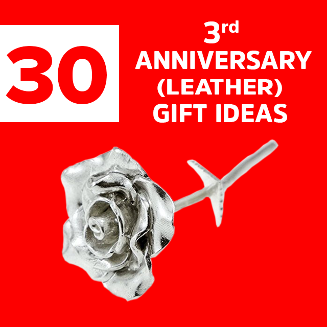 18 Best 3rd Anniversary Gift Ideas Surprise Them With Leather