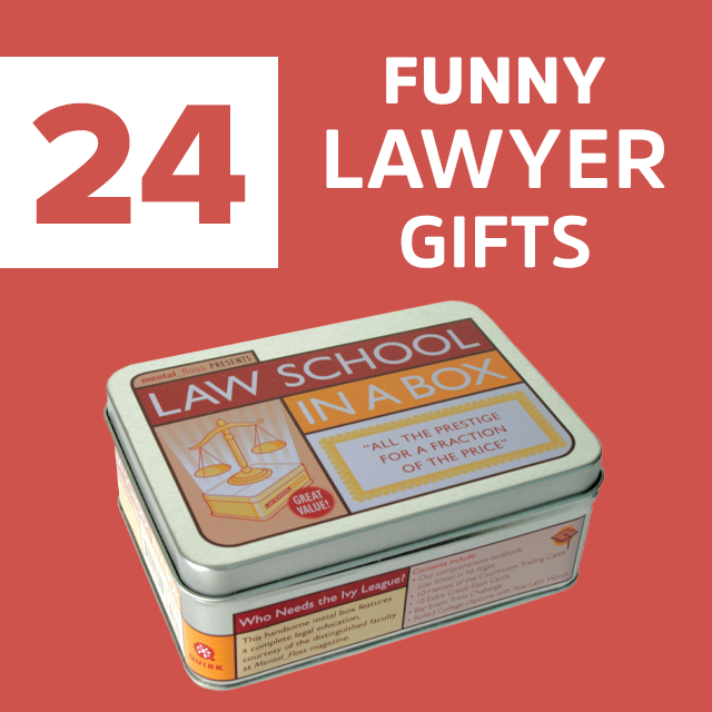 24 Hilarious Gifts For Lawyers